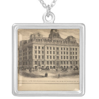 Continental Life Insurance Company Silver Plated Necklace
