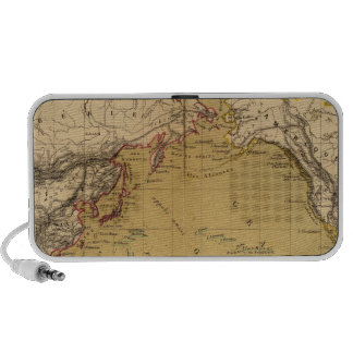 Continental Map Travelling Speaker