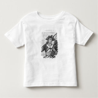 Continental Soldier holding a musket flag Toddler T-Shirt
