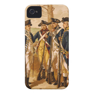 Continental Soldiers by Henry Alexander Ogden iPhone 4 Covers