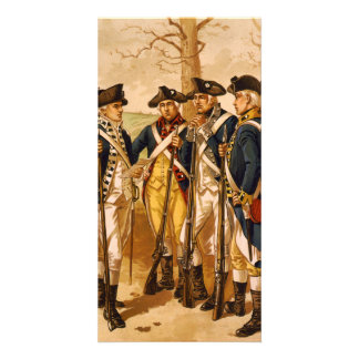 Continental Soldiers by Henry Alexander Ogden Photo Greeting Card