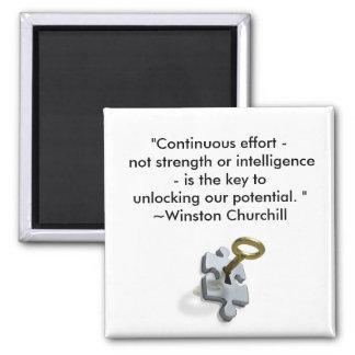 Continuous Effort Magnet