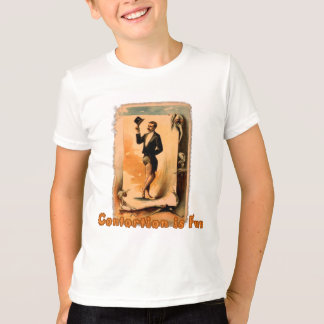 Contortion is Fun! Circus Poster T-Shirt