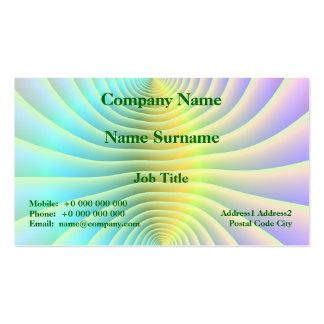Contour Lines Business Card