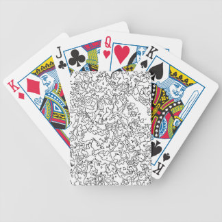 Contours Bicycle Playing Cards