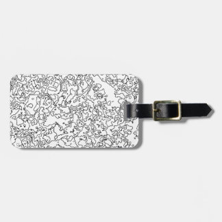 Contours Luggage Tag