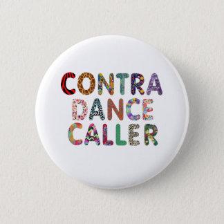 Contra Dance Caller Button