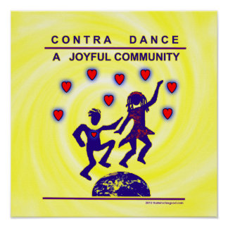 Contra Dance Joy Posters