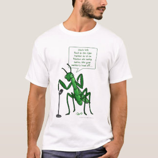 Contra Dance Praying Mantis Caller T-Shirt