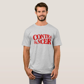 Contra Dancer-Red Lettering T-Shirt
