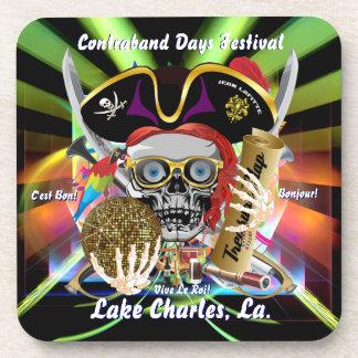 Contraband Days Lake Charles Louisiana Coasters