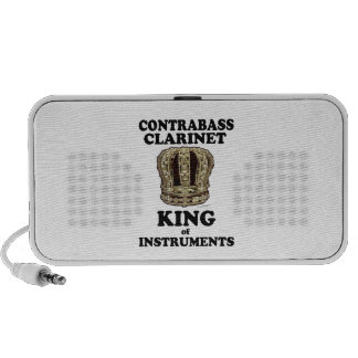 Contrabass Clarinet King of Instruments Portable Speaker