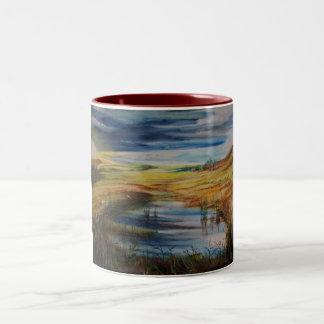 contradiction Two-Tone mug