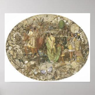 Contradiction: Oberon and Titania, 1854-58 Poster
