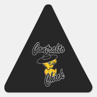 Contralto Chick #4 Sticker