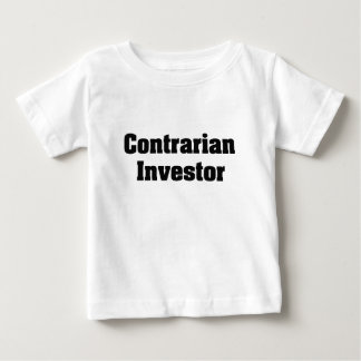 Contrarian Investor Baby T-Shirt