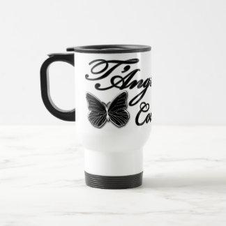 Contrasting black/white Travel/Commuter Mug