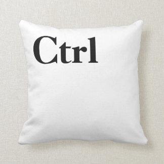 Control Ctrl Button Novelty Keyboard Throw Pillow