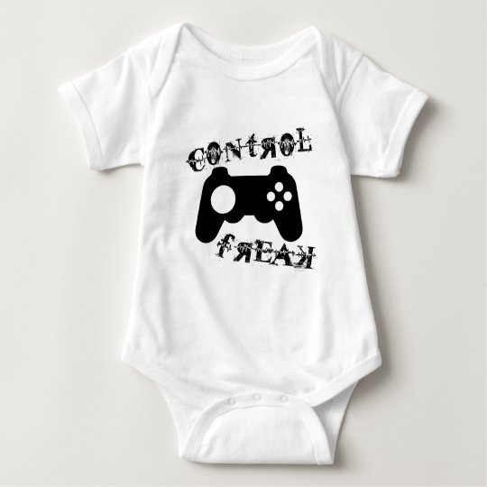 Control Freak Baby Bodysuit