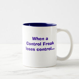 Control. Freak! Two-Tone Mug