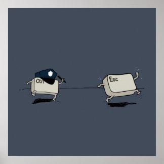 Control vs Escape Poster