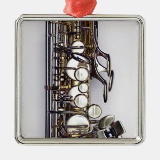 Controls of Saxophone Christmas Ornament