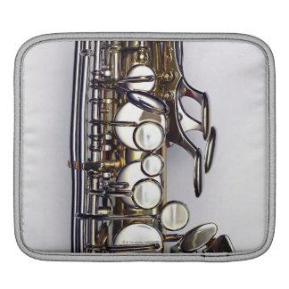 Controls of Saxophone iPad Sleeve