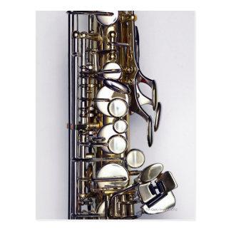 Controls of Saxophone Postcard