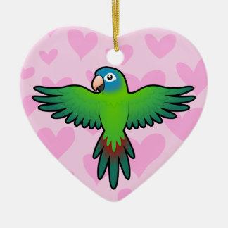 Conure / Lorikeet / Parrot Love Christmas Ornament