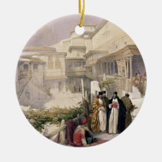 Convent of St. Catherine, Mount Sinai, February 17 Round Ceramic Decoration