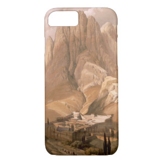 Convent of St. Catherine with Mount Horeb, Februar iPhone 8/7 Case