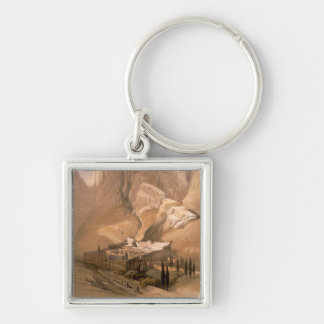 Convent of St. Catherine with Mount Horeb, Februar Key Ring