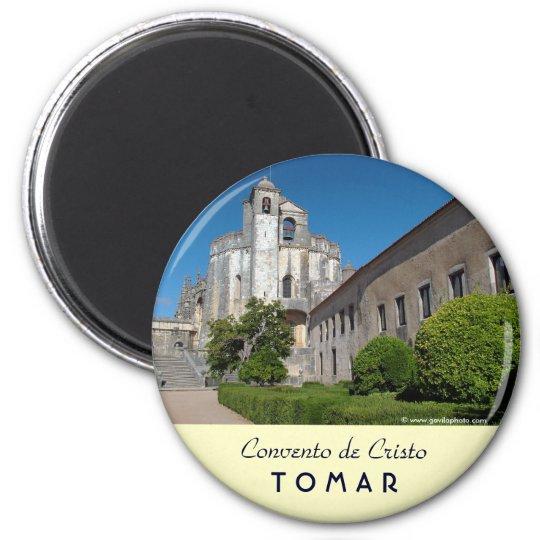 Convento de Cristo 6 Cm Round Magnet