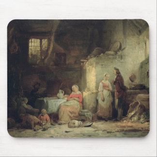 Conversation after the Meal, 1840 Mouse Pads