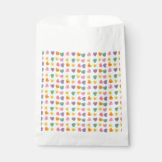 Conversation Candy Hearts Favor Bag Favour Bags