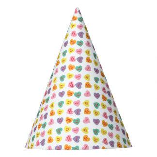 Conversation Hearts Party Hat