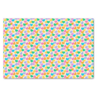 Conversation Hearts Tissue Paper