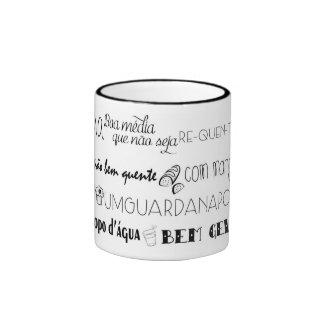 Conversation of a Tavern Ringer Mug