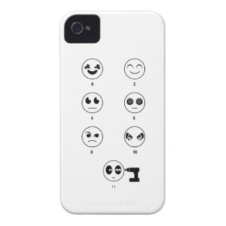 Conversation Rating Scale Case-Mate iPhone 4 Case