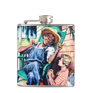 Conversation with Dad. Father's Day Gift Flasks