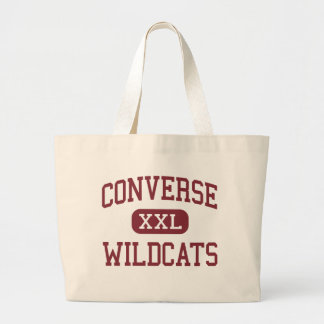 Converse - Wildcats - High - Converse Louisiana Large Tote Bag