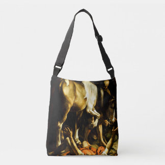 Conversion on the Way to Damascus by Caravaggio Crossbody Bag