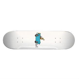 Convertible Car Skateboard Decks