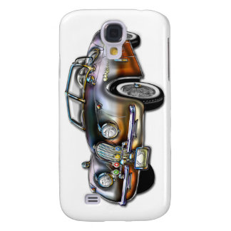 Convertible Classic Metallic Sports Car Galaxy S4 Case