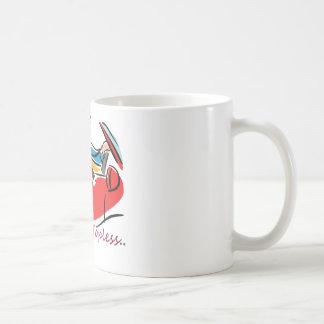 Convertibles: We Ride Topless Basic White Mug