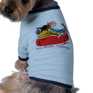 Convertibles: We Ride Topless Doggie Tshirt