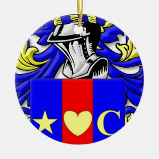 Convery Coat of Arms Ornament