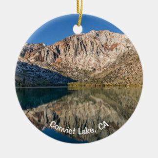Convict Lake, CA Christmas Ornament