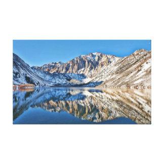 Convict Lake Reflections Canvas Print