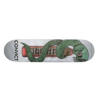 Convict Logo Deck 20.6 Cm Skateboard Deck